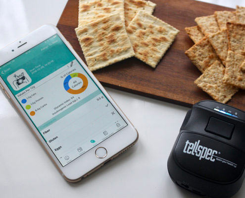 Tellspec sensor